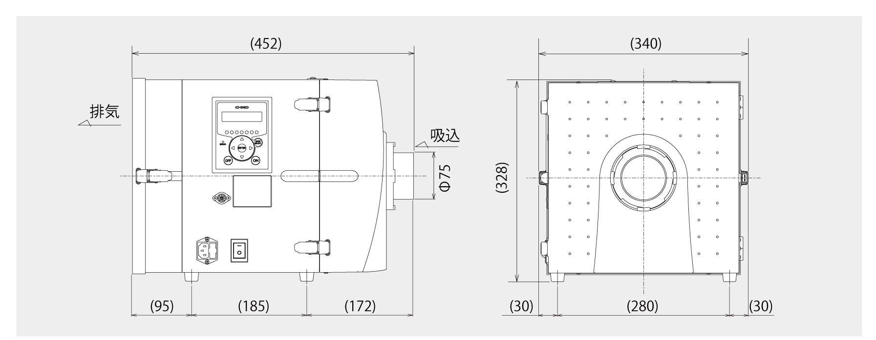 画像:CBA-500AT3-HC外形図