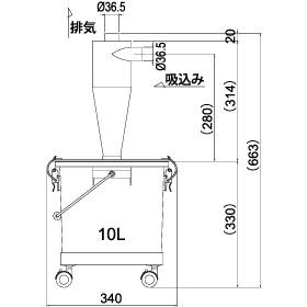 画像:SCC-60-10 外形図